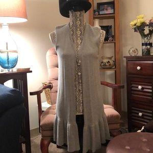 BNWT Loft sleeveless cardigan